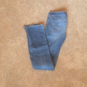 American Eagle Straight Cut Jeans Extra Long